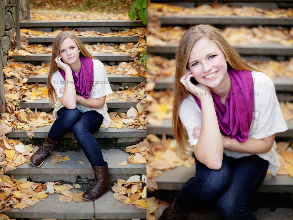 boston fall senior pictures